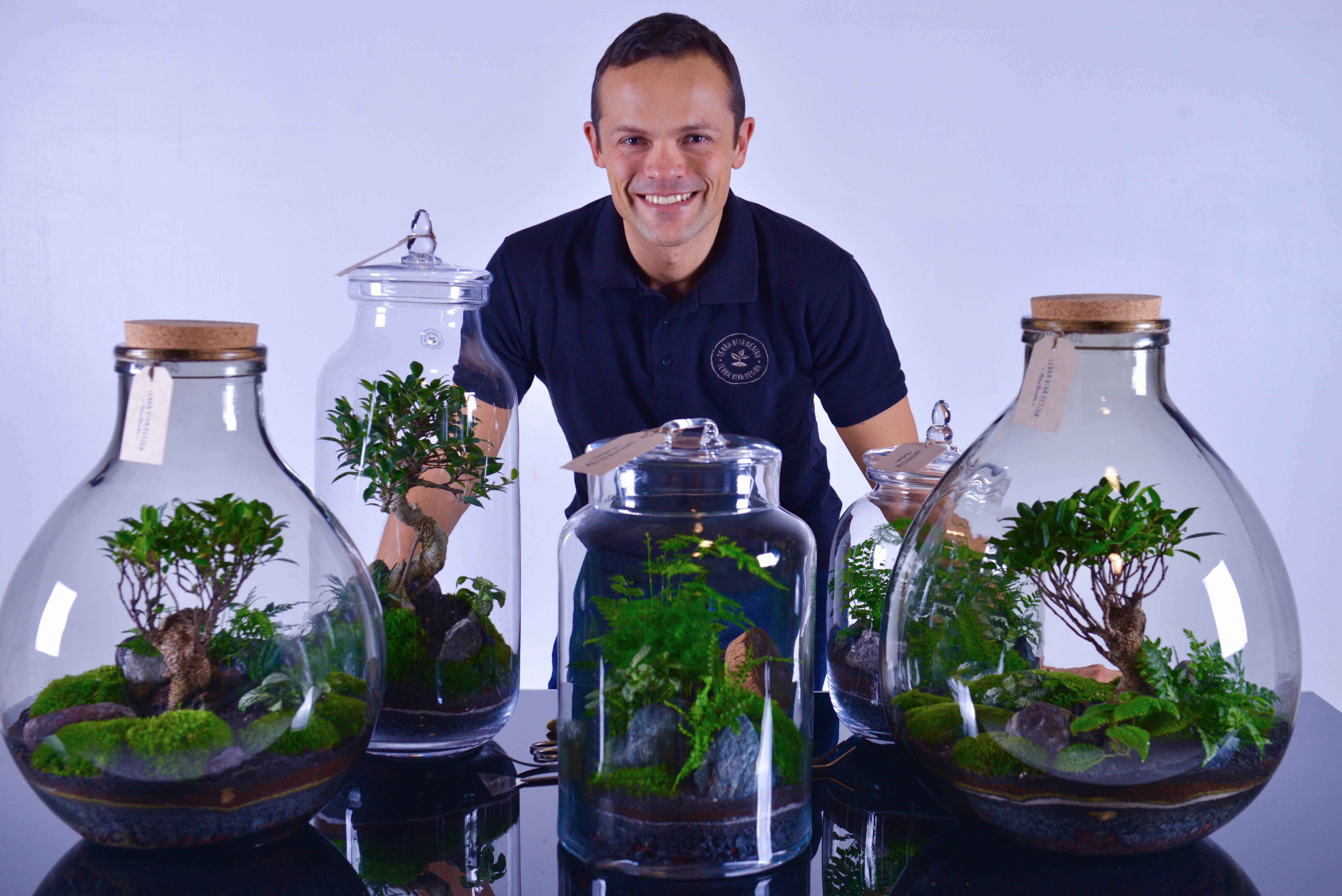 Stefano Tubaldo, l'artista dei Nano Garden